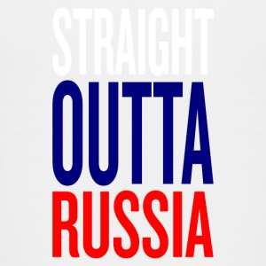 straight outta russia - Teenager Premium T-Shirt