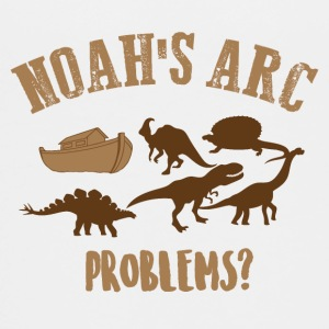 Noah's Arc - Dinosaurs - Teenage Premium T-Shirt