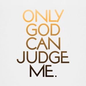 Only God Can Judge Me. V.1.0 - Teenage Premium T-Shirt