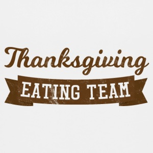 Thanksgiving / Erntedankfest: Thanksgiving Eating - Teenager Premium T-Shirt