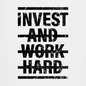 Invest and work hard - Teenager Premium T-Shirt