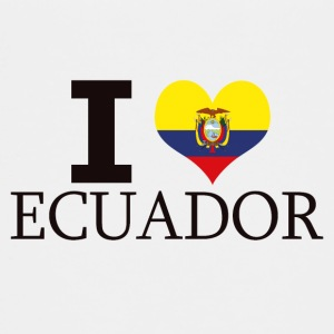 I LOVE ECUADOR - Teenage Premium T-Shirt