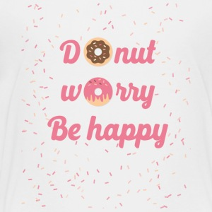 donut worry - Teenage Premium T-Shirt