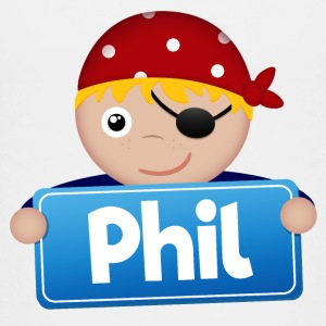Little Pirate Phil - Premium-T-shirt tonåring