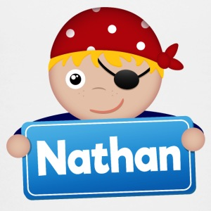 Lidt Pirate Nathan - Teenager premium T-shirt