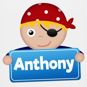 Little Pirate Anthony - Teenage Premium T-Shirt