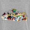 Asterix & Obelix attack Teenager T-Shirt - Teenager Premium T-shirt