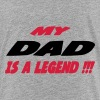 My dad is a legend !!! 333 - Teenage Premium T-Shirt