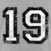 Number 19 number nineteen 19th birthday nineteenth - Teenage Premium T-Shirt