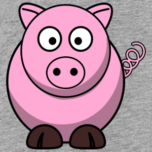 Little cute piglet piglet - Teenage Premium T-Shirt