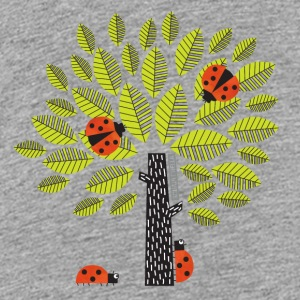 beetle tree - Teenage Premium T-Shirt