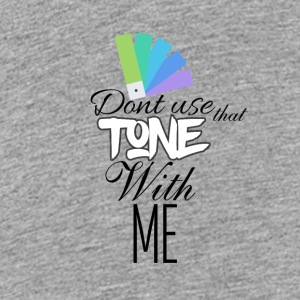 Chill your tone with me - Teenage Premium T-Shirt