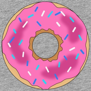 Donut - Pink - Teenage Premium T-Shirt