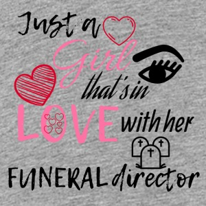 A girl who's in love with her funeral director - Teenage Premium T-Shirt