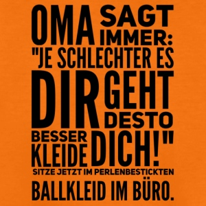Oma sagt immer... - Teenager Premium T-Shirt