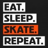 Eat. Sleep. Skate. Repeat. txt - Teenage Premium T-Shirt
