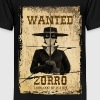 Zorro The Chronicles Wanted Poster - Teenage Premium T-Shirt