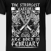 February - Viking - birthday - EN - Teenage Premium T-Shirt