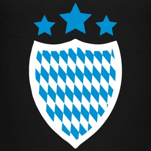Oktoberfest Coat of Arms Banner Logo Emblem Shield 2c - Teenage Premium T-Shirt