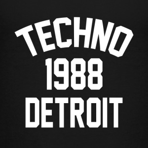 Techno 1988 Detroit - Teenager Premium T-Shirt