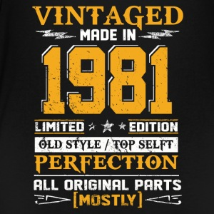 Vintaged Made In 1981 Limited Editon - T-shirt Premium Ado