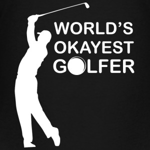 golfare World - Premium-T-shirt tonåring