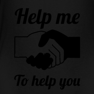 helpmehelpyou Blak - Teenager Premium T-shirt