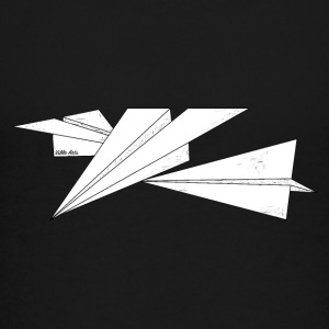 Triple paperplane - Teenager premium T-shirt