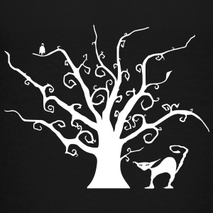 Creepy Tree - Teenage Premium T-Shirt