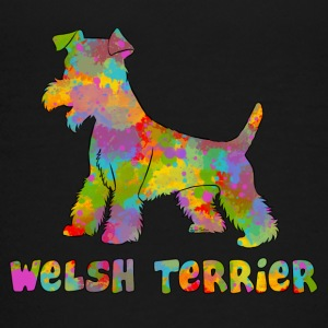 Welsh Terrier Multicolor - Teenager Premium T-Shirt