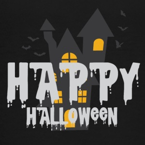 Gelukkig Haunted Halloween Castle Haunted Castle Spoken - Teenager Premium T-shirt