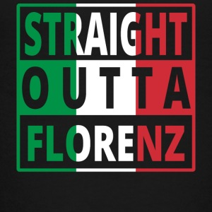 Straight outta Italia Italy Florence - Teenage Premium T-Shirt