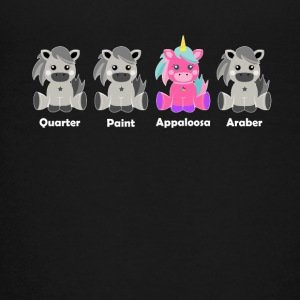 Appaloosa Unicorn Shirt - Teenager premium T-shirt