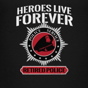 Hero cop / POLITIE - Teenager Premium T-shirt