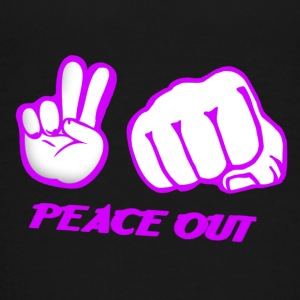 Peace Out - T-shirt Premium Ado