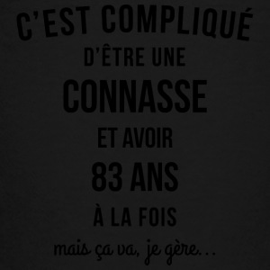 Connasse and 83 ANS at a time - Teenage Premium T-Shirt