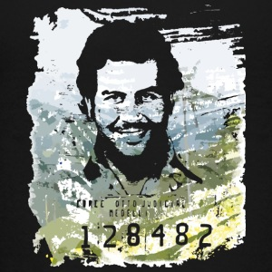Pablo Escobar distressed - Teenage Premium T-Shirt