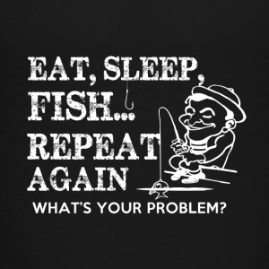 FISHING EAT SLEAP - Teenage Premium T-Shirt