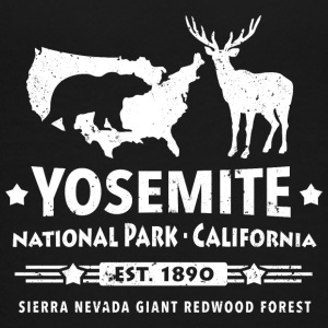 Yosemite National Park Kalifornien Bär Redwood - Teenager Premium T-Shirt