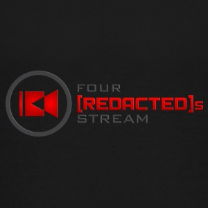Four [REDACTED]s Stream Logo - Teenage Premium T-Shirt