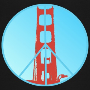 Golden Gate Peace - Teenager Premium T-shirt