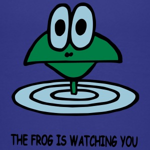 the frog is watching you - Teenage Premium T-Shirt