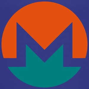 Monero Logo Cirkel - Teenager premium T-shirt