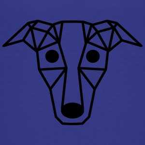 Dog - Art - vorm - Diamond - Teenager Premium T-shirt