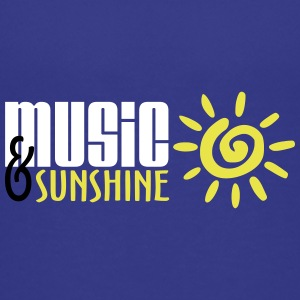 Music and Sunshine - Teenage Premium T-Shirt
