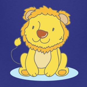 Linus The Lion - Camiseta premium adolescente
