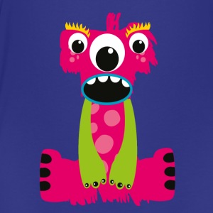 Pink Characters Monster I - Teenage Premium T-Shirt
