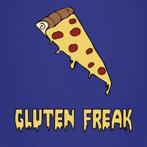 Gluten-Freak-Diät-Spaß-Pizza-T-Shirt - Teenager Premium T-Shirt