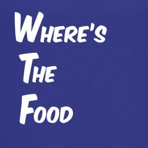 Where's the food - Teenage Premium T-Shirt