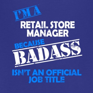 retail store manager - Teenager Premium T-Shirt